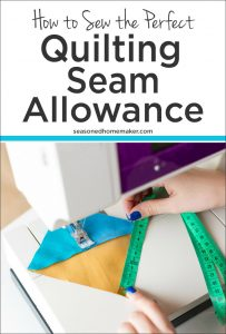 """Find out How to Get a Perfect 1/4"""" Seam Every Time!"""
