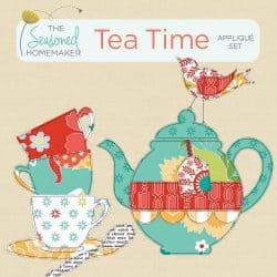 Tea Time Appliqué Set