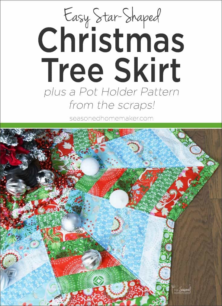 How to Make a Christmas Tree Skirt You'll Love - The Seasoned ...