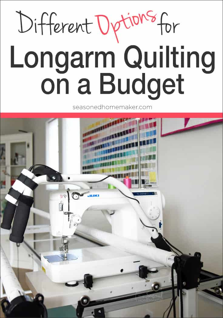 quilter quilting quilt featured arm from long a machines plank