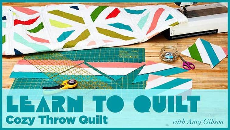 If you're interested in learning to quilt, check out these The 10 Best Craftsy How to Quilt Classes. They have everything you need to get started.