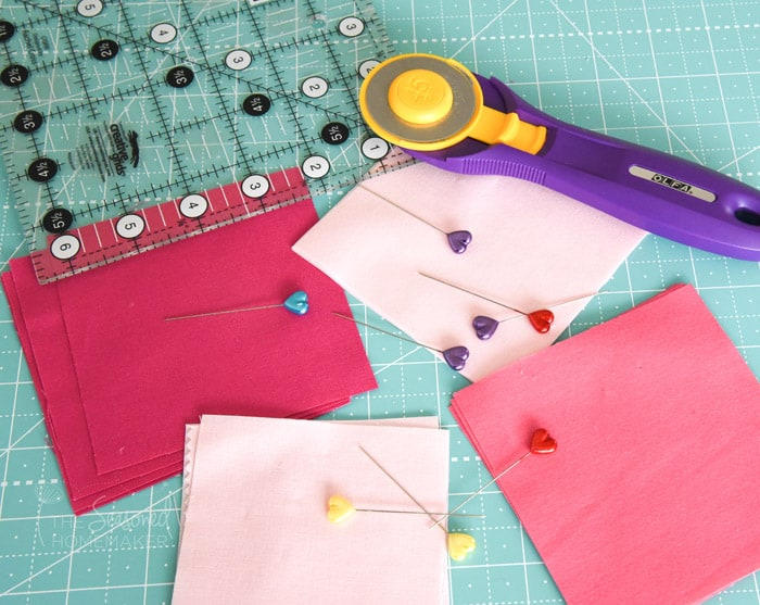 How to make a perfect valentine star quilt block the for How to cut a perfect star