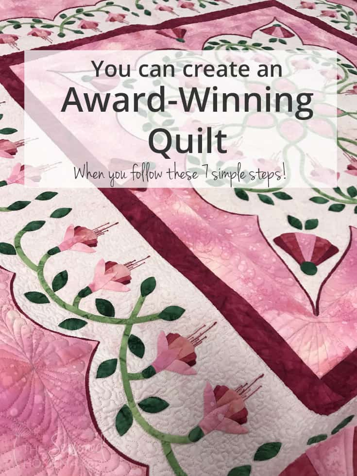 What makes an award winning quilt that judges will notice? #awardwinningquilts #awardwinningquiltshouston #beautifulawardwinningquilts #awardwinningmodernquilts #awardwinningquiltpatterns | seasoned homemaker.com