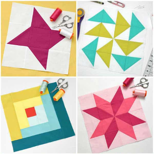 Learn How to Make a Perfect Sawtooth Star Quilt Block