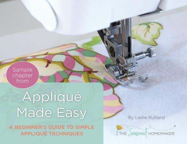 Applique Made Easy eBook book cover