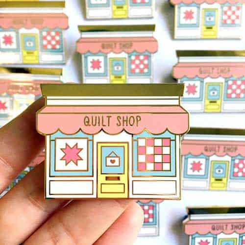 The Best Sewing & Quilting Themed Enamel Pins