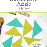 How to Make the Perfect Dutchman's Puzzle Quilt Block