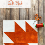 How to Make a Maple Leaf Quilt Block