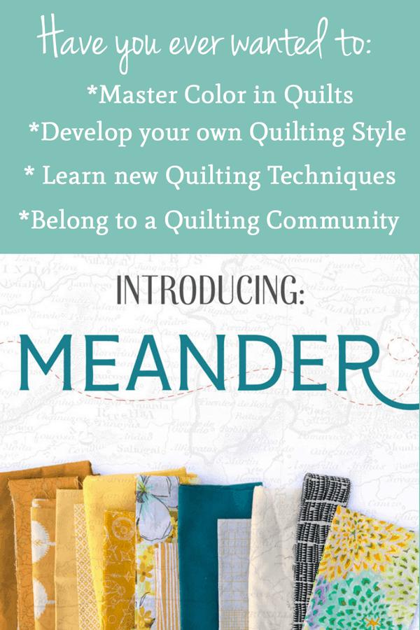 The Meander Quilt Guild