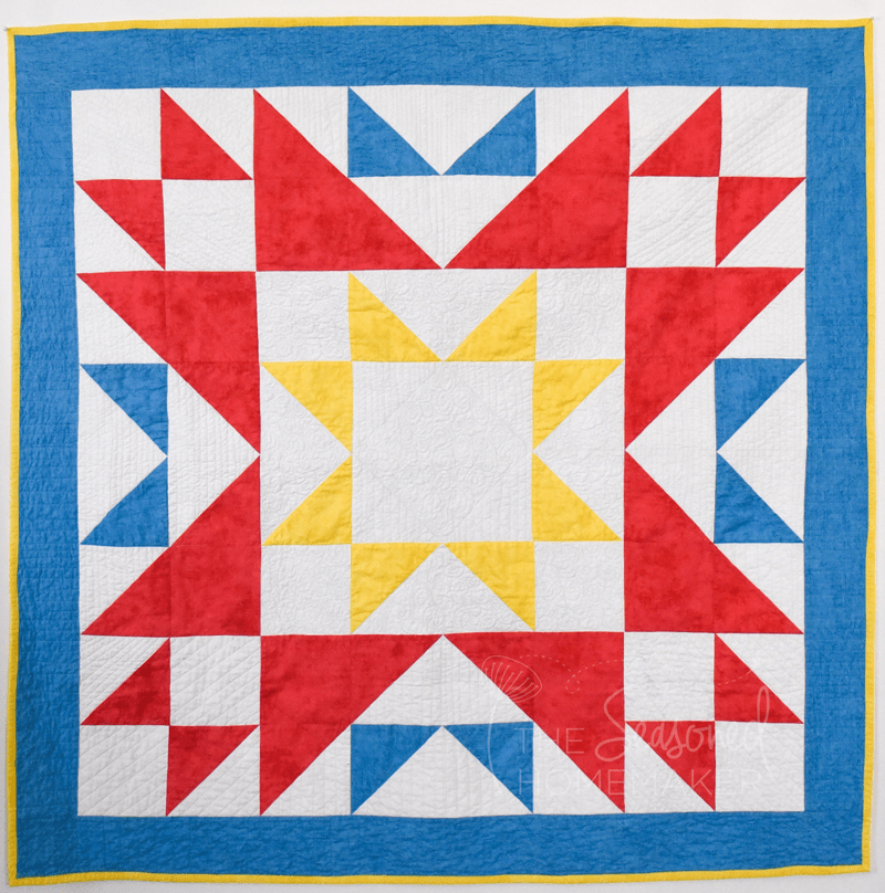 Have You Heard Of The Blueberry Pie Quilt Block The