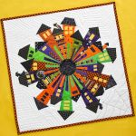 How to Make a Halloween Dresden Neighborhood Mini Quilt