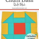 Learn How to Make a Perfect Churn Quilt Block