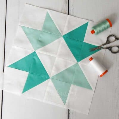 Learn How to Make a Ribbon Star Quilt Block