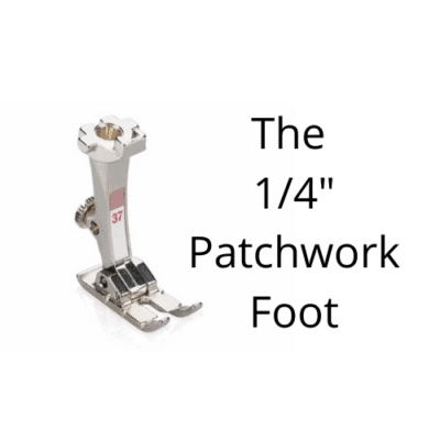 The Patchwork Quilting Foot