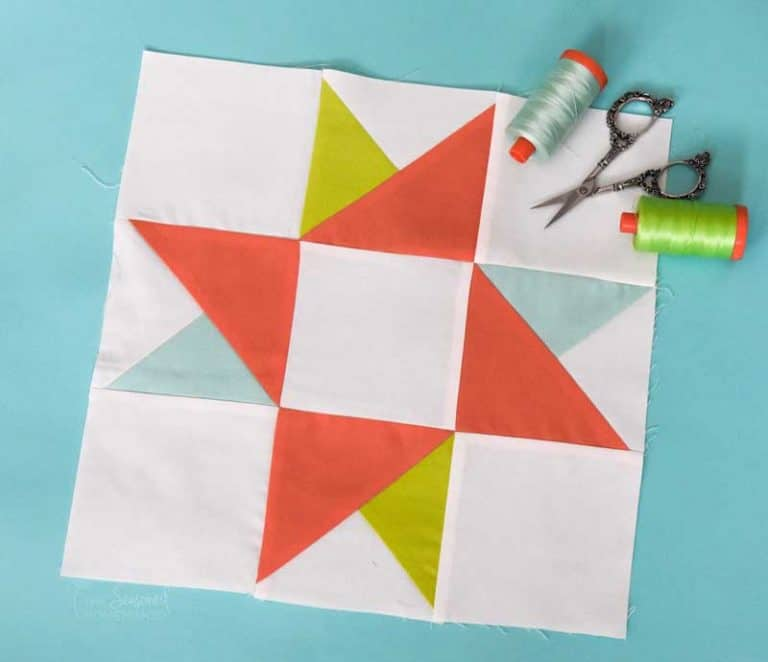 How to Make a Perfect Twin Star Quilt Block