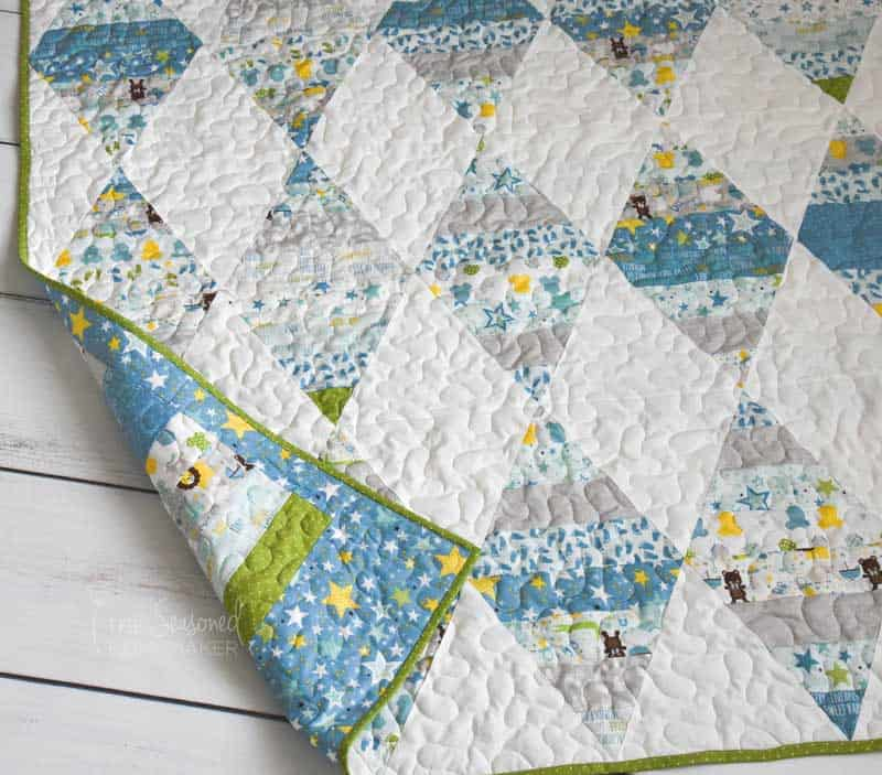 How to Make a Triangle Quilt