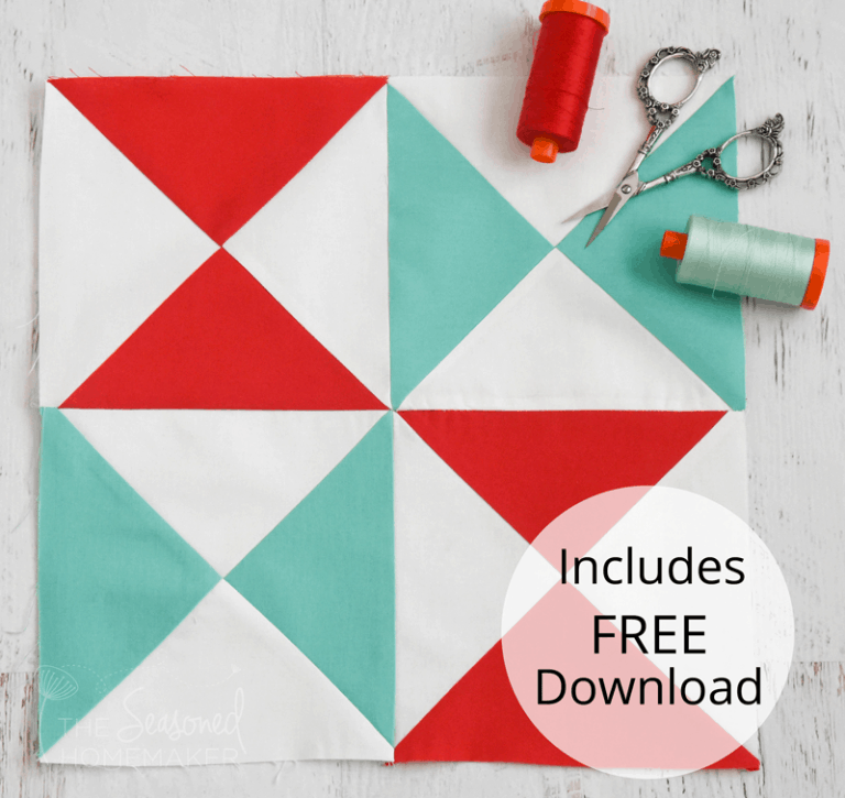How to Make a Perfect Hourglass Quilt Block