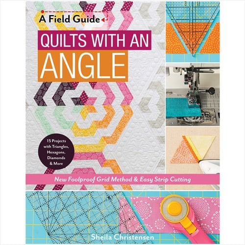 Quilts with an Angle: New Foolproof Grid Method & Easy Strip Cutting