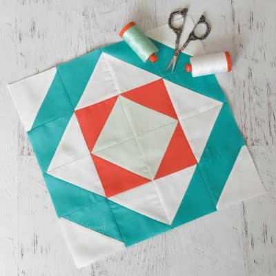 Learn How to Make an Easy Mosaic Quilt Block