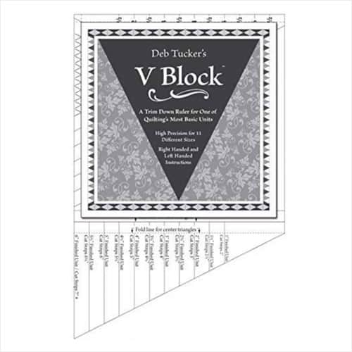 V Block Ruler from Studio 180