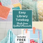 Learn How to Make a Cute Library Tote