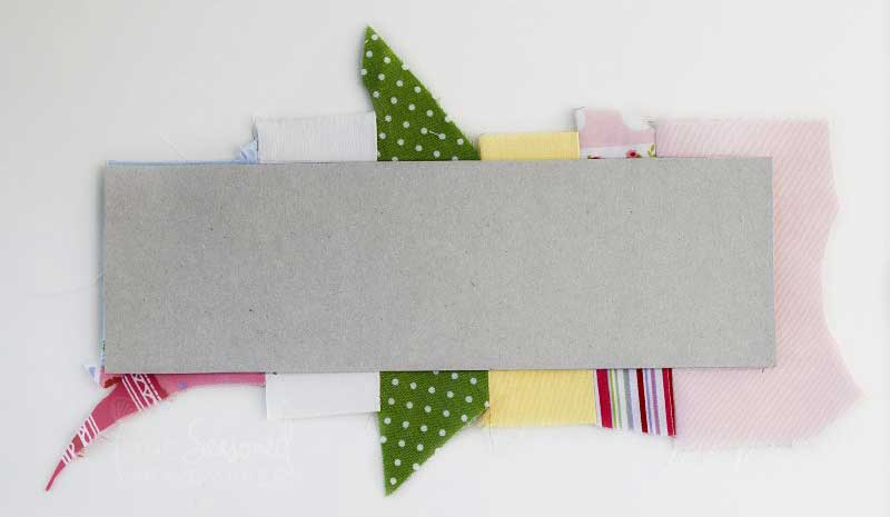 How To Sew A Bookmark using a template