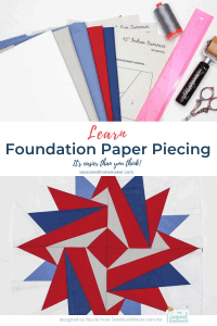 Beginner Foundation Paper Piecing Tutorial