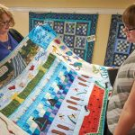 Unique Quilts from the Row by Row Experience