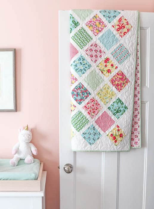 Lattice Baby Quilt Pattern