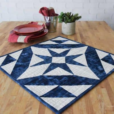 The Midnight Star Table Topper