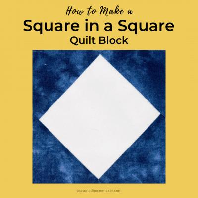 A Perfect Square in a Square Block