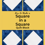 A Perfect Square in a Square Block