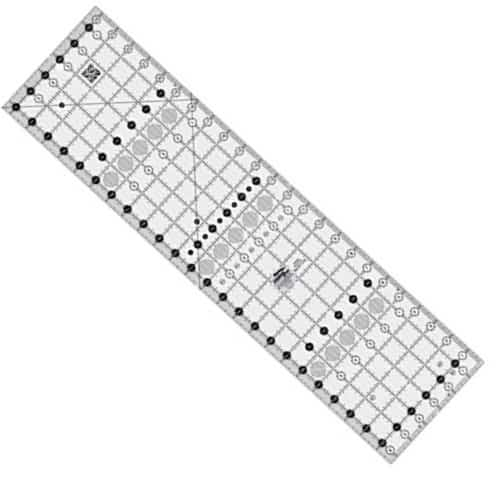 Creative Grids Basic Range 4 x 14 Rectangle Quilting Ruler Template