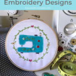 How to Fill in Large Embroidery Spaces