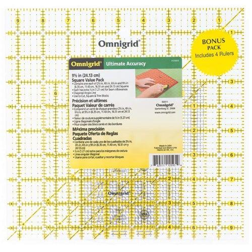 Omnigrid Square Ruler Set
