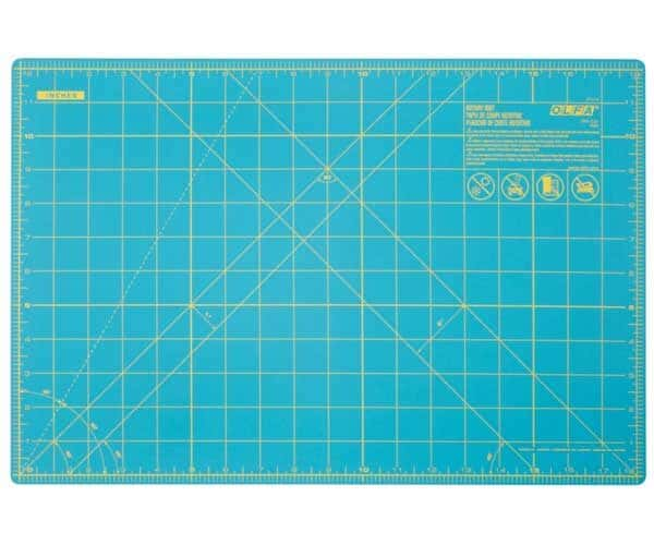 "OLFA 12"" x 18"" Double-Sided, Self-Healing Rotary Mat"