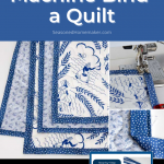How To Machine Bind A Quilt Pin Image
