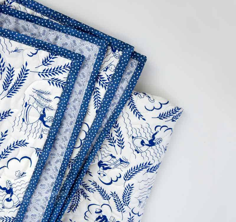 The Easy Way to Bind A Quilt