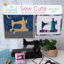 Sew Cute Sewing Machine Applique Set