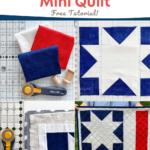 Patriotic Mini Quilt