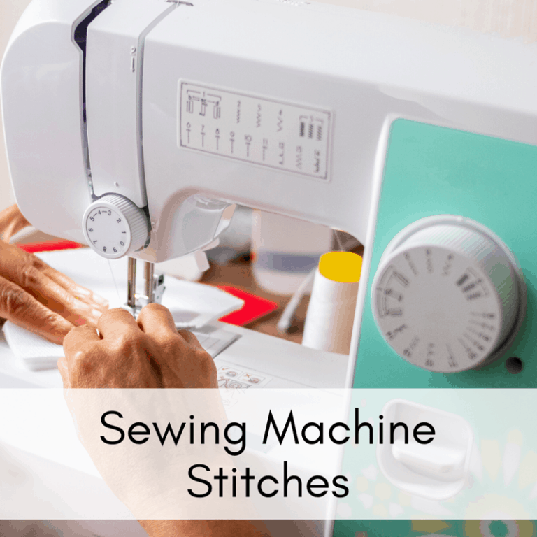 All About Sewing Machine Stitches