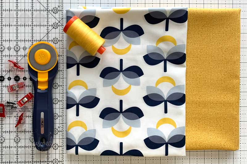 Fabric for Simple Tote Bag Tutorial