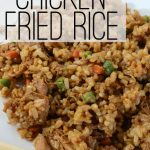 Glute-Free Chicken Fried Rice