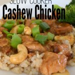 Gluten-Free Crock Pot Cashew Chicken