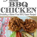 Gluten-Free Pulled BBQ Chicken