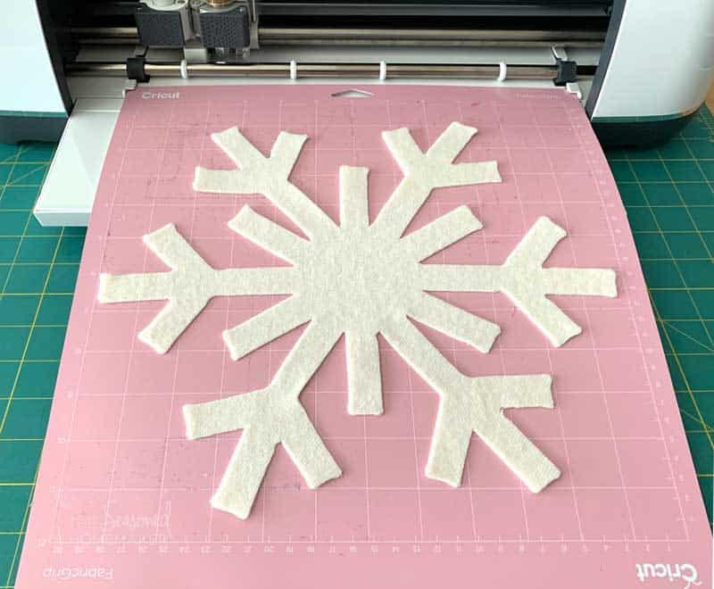 Felt Snowflake Image