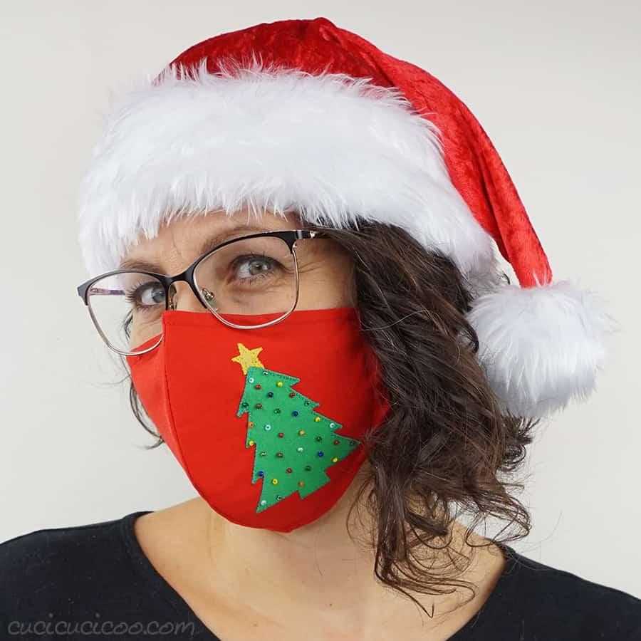 Handmade Christmas Mask