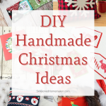 Handmade Holiday Gift Ideas - Pinterest image grid