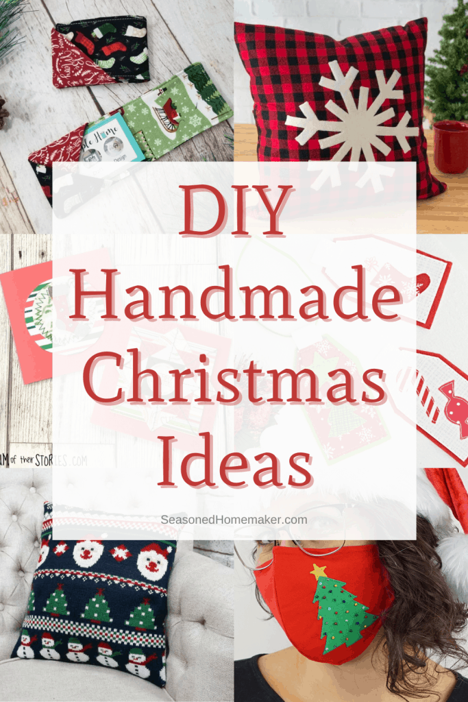 Handmade Holiday Gift Ideas - Pinterest image grid