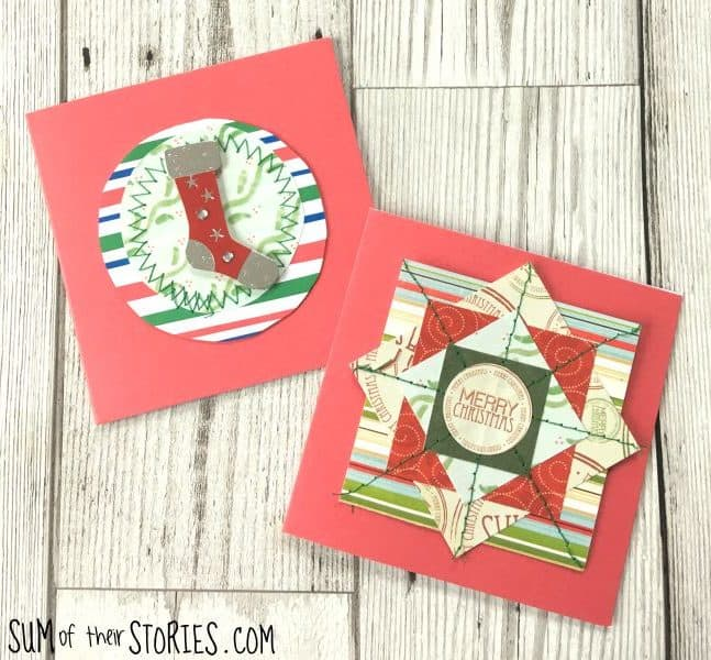 Stitched Christmas Cards